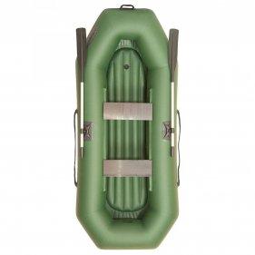 Изображение Лодка гребная ПВХ Лоцман С-260 ВНД (Зеленый)