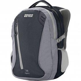 Изображение Агент 34 рюкзак городской (Серый/черный, 34 л)
