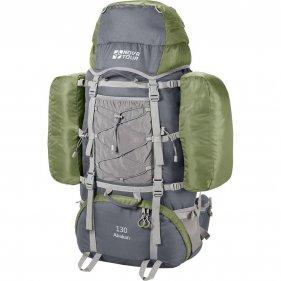 Изображение Абакан 130 рюкзак экспедиционный (Серый/олива)