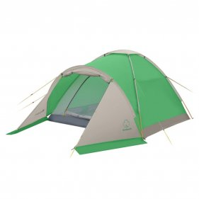 Изображение Моби 2 плюс палатка (Зеленый/свет.серый)