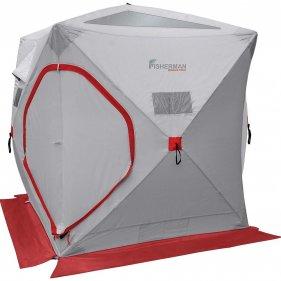 Изображение Палатка зимняя Куб (Серый)