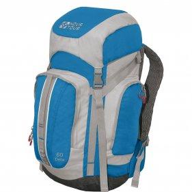 Изображение Дельта 60 V2 рюкзак туристический (Серый/синий)