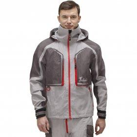 Изображение Риф Prime куртка (Серый/красный, XS)