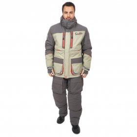 Изображение Фишермен Норд V2 костюм (Серый/олива, XS)