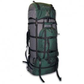 Изображение Рюкзак Хибины 85 PRO зеленый/серый