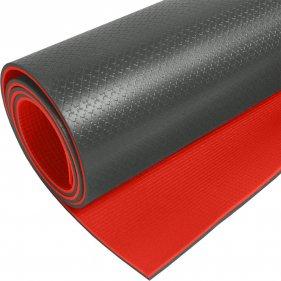 Изображение Коврик SPORT 10 двухцветный (Красный/Черный)
