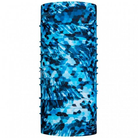 Buff бандана Bugslinger CoolNet UV+Mosaic Camo Marine Blue