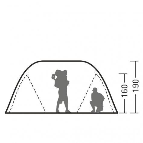 Палатка трансформер пятиместная Арди 4/5