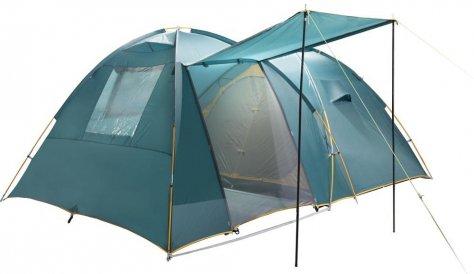 4х местная кемпинговая палатка с тамбуром