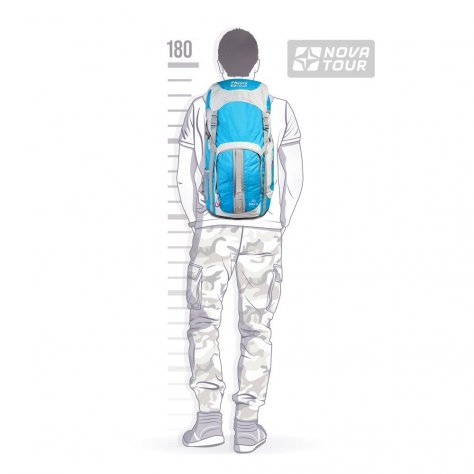 Рюкзак для дачи и поездок Дельта 45 v2