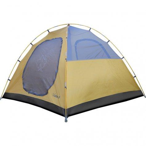 Палатка кемпинговая с большим тамбуром Велес 3 v2