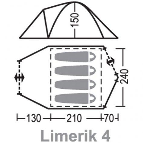 """Палатка """"Лимерик 4"""""""