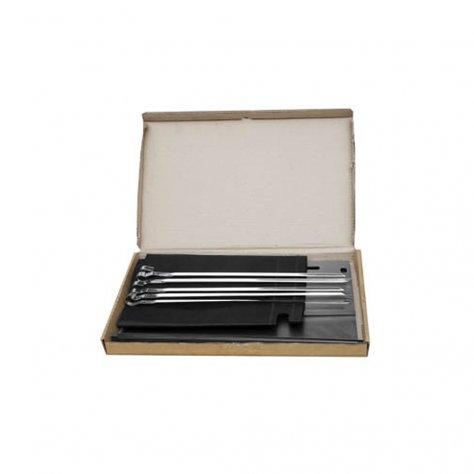Мангал малый + 5 шампуров (400х250х400) в сумке (сталь 0,5мм) Технолит 3-02-0056