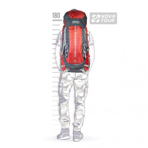 Рюкзак туристический с широким входом Кондор 90