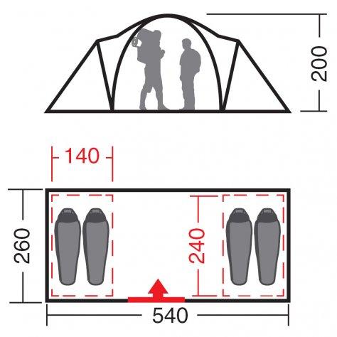 """Палатка """"Калипсо 4"""" N"""