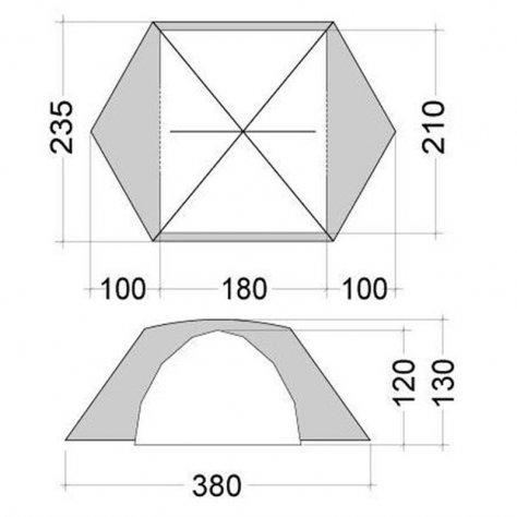 Bask Палатка Bonzer 3