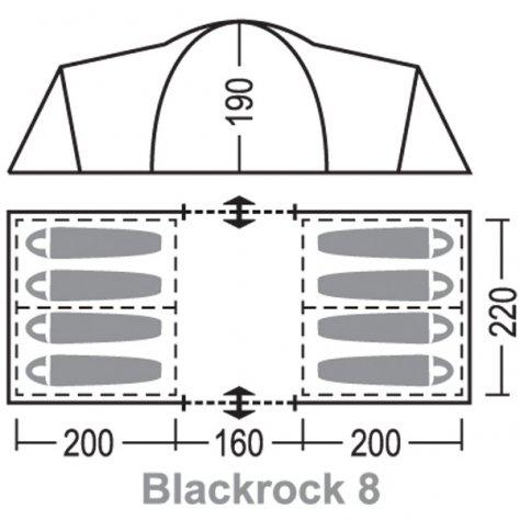 """Палатка  """"Блэкрок 8 """""""