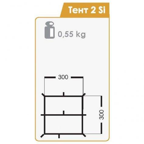 Normal Тент 2 Si 3х3