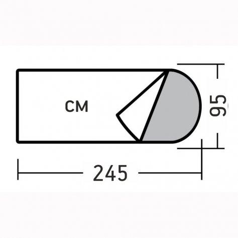 Шелин -5 спальный мешок
