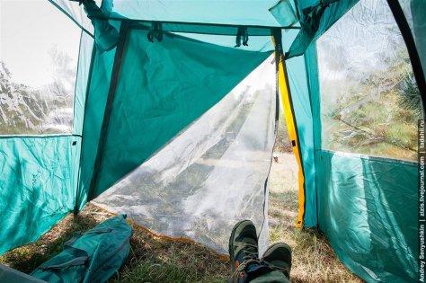 """Высокая двухместная палатка автомат """"Ларн 2 """""""