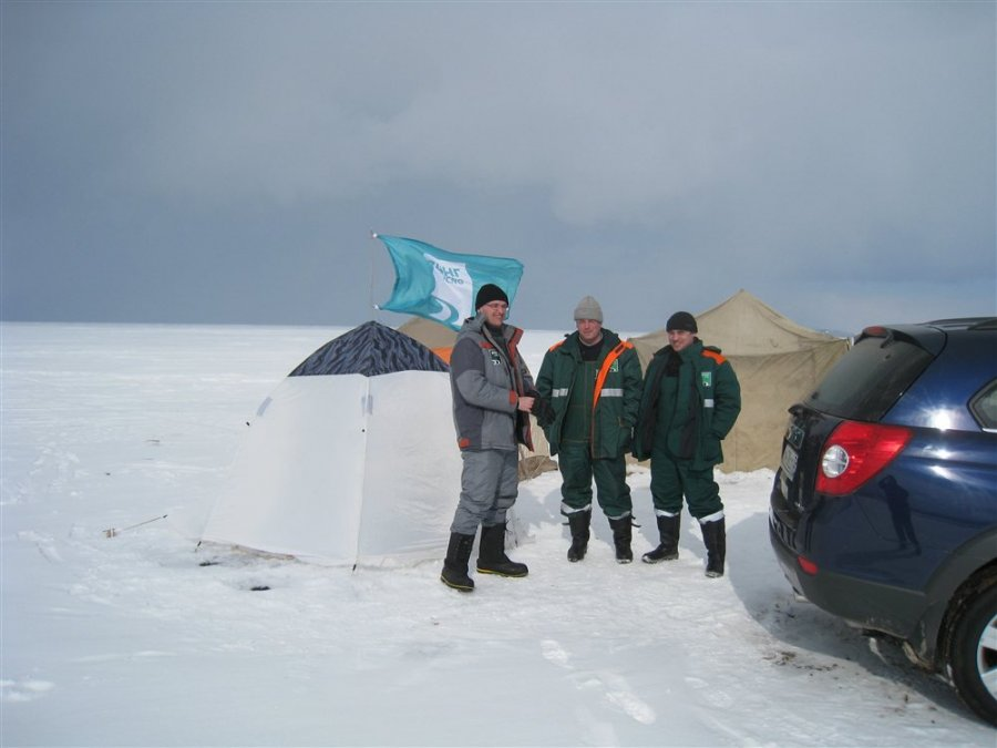 Палатка  на Байкале